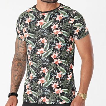 La Maison Blaggio - Tee Shirt Mansfield Noir Floral