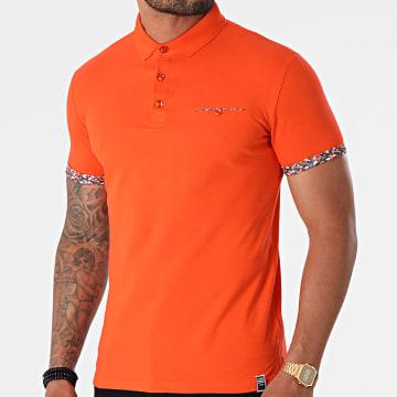 La Maison Blaggio - Polo Manches Courtes Pearland Orange