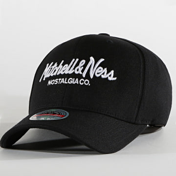 Mitchell and Ness - Casquette Branded Pinscript Noir