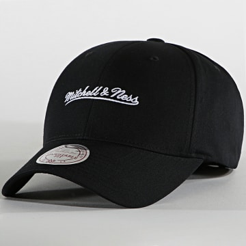 Mitchell and Ness - Casquette Branded Script Low Pro Noir