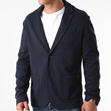Only And Sons - Veste Blazer Mark Bleu Marine