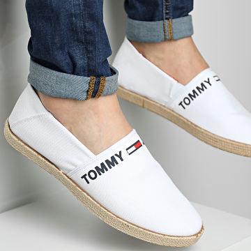 Tommy Jeans - Espadrilles Logo 0676 White