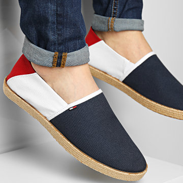 Tommy Jeans - Espadrilles Essential 0677 Red White Blue