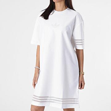 Adidas Originals - Robe Tee Shirt Femme GN3248 Blanc