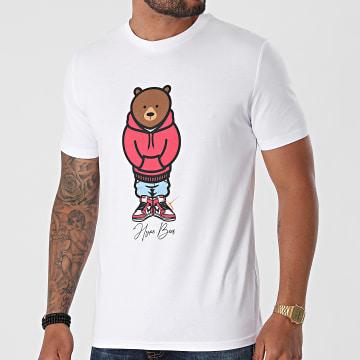 Luxury Lovers - Tee Shirt Hype Bear Red Hood Blanc