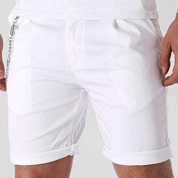 Uniplay - Short Chino P2031 Blanc