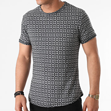 Uniplay - Tee Shirt Oversize T791 Gris Anthracite