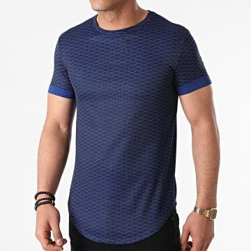 Uniplay - Tee Shirt Oversize UY645 Bleu Marine