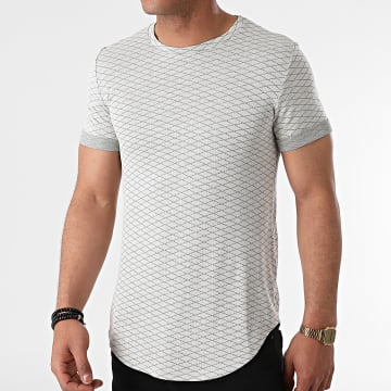 Uniplay - Tee Shirt Oversize UY645 Gris Clair