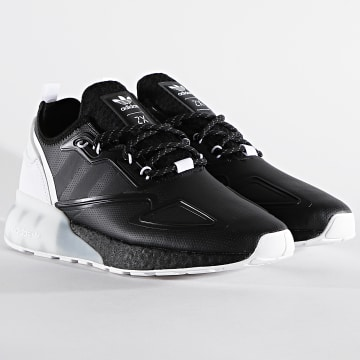 Adidas Originals - Baskets ZX 2K Boost S42835 Core Black Footwear White