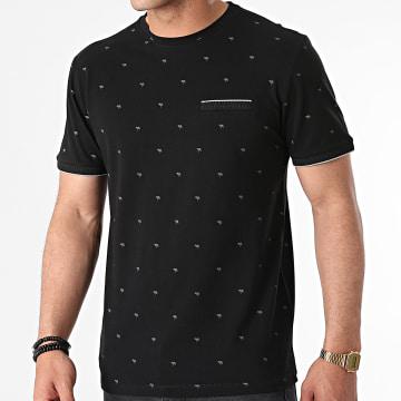 Armita - Tee Shirt TLP-7430 Noir Floral