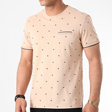 Armita - Tee Shirt TLP-7430 Beige Floral