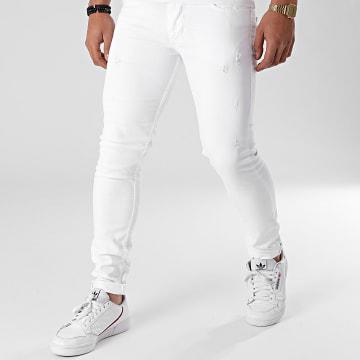 Black Industry - Jean Skinny P100 Blanc