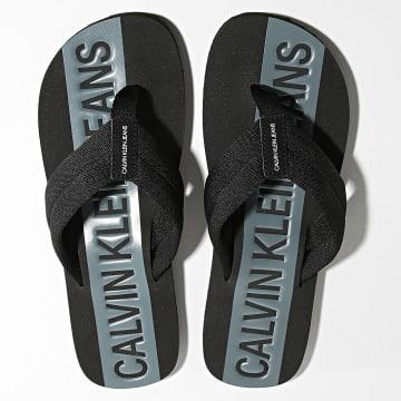 Calvin Klein - Tongs Beach Sandal Webbing 0072 Black