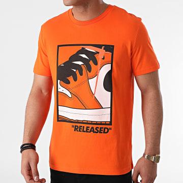 Luxury Lovers - Tee Shirt Released Orange
