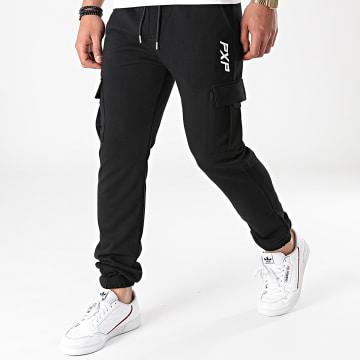 Project X Paris - Pantalon Jogging 2140155 Noir Iridescent