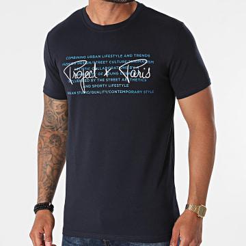 Project X Paris - Tee Shirt 2110155 Bleu Marine