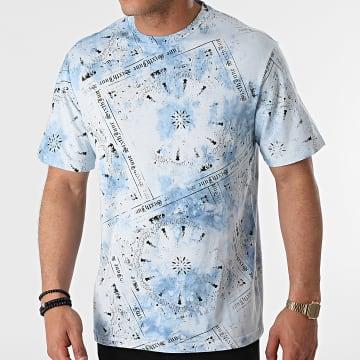 Sixth June - Tee Shirt M22308ETS Bleu Clair Bandana