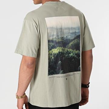 Sixth June - Tee Shirt M22300VTS Vert Kaki Clair