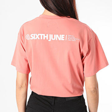 Sixth June - Tee Shirt Femme W32948VTS Orange