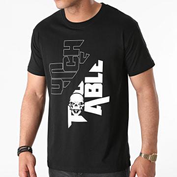 Untouchable - Tee Shirt New Logo Noir Blanc