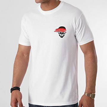 Untouchable - Tee Shirt New Logo Blanc Noir Rouge