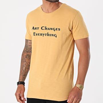 Armita - Tee Shirt TJ-842 Camel Chiné