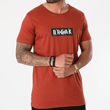 Armita - Tee Shirt TJ-838 Marron