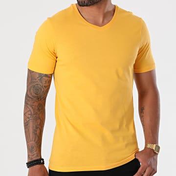 Armita - Tee Shirt Col V TV-350 Jaune