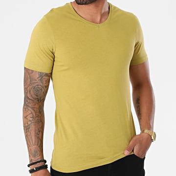 Armita - Tee Shirt Col V TV-350 Vert Clair