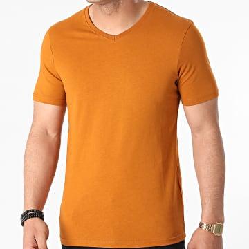 Armita - Tee Shirt Col V TV-350 Camel