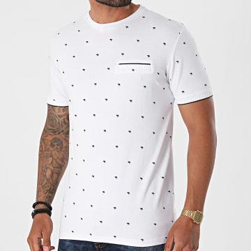 Armita - Tee Shirt TLP-7430 Blanc Floral