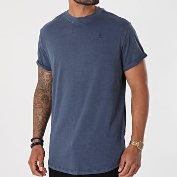 G-Star - Tee Shirt Oversize D16396-2653 Bleu Marine