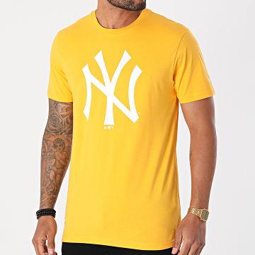 New Era - Tee Shirt MLB Seasonal Team Logo New York Yankees 12369830 Jaune