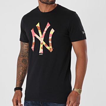 New Era - Tee Shirt MLB Camo New York Yankees 12720165 Bleu Marine