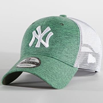 New Era - Casquette Trucker 9Forty Home Field 60137413 New York Yankees Vert Chiné