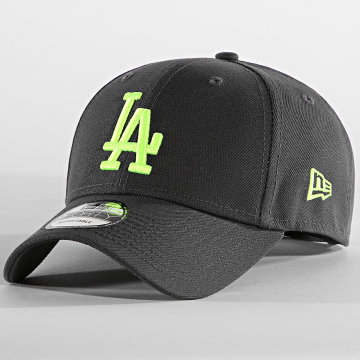 New Era - Casquette 9Forty Neon Pack 60137530 Los Angeles Dodgers Gris