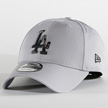 New Era - Casquette 9Forty Camo Infill 60137558 Los Angeles Dodgers Gris