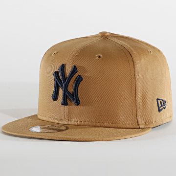 New Era - Casquette Snapback 9Fifty League Essential 60137635 New York Yankees Camel