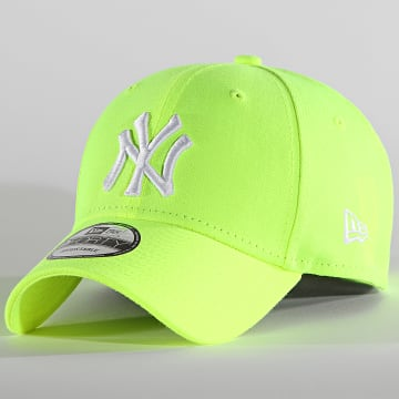 New Era - Casquette 9Forty Neon Pack 60137675 New York Yankees Jaune Fluo