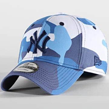 New Era - Casquette 9Forty Camo Pack 60137703 New York Yankees Bleu
