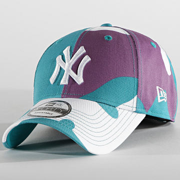 New Era - Casquette 9Forty Camo Pack 60137715 New York Yankees Turquoise