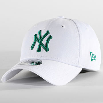 New Era - Casquette Fitted 39Thirty League Essentiaal 60137725 New York Yankees Blanc