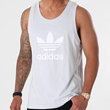 Adidas Originals - Débardeur Trefoil GN3488 Bleu Clair