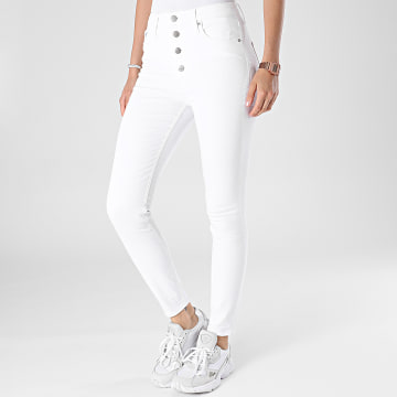 Calvin Klein - Jean Femme Super Skinny 7153 Blanc
