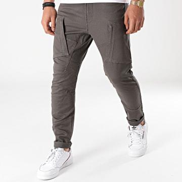 G-Star - Pantalon Cargo Skinny Zip Pocket 3D D18928-C105 Gris Anthracite