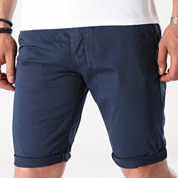 Mackten - Short Chino 6166 Bleu Marine