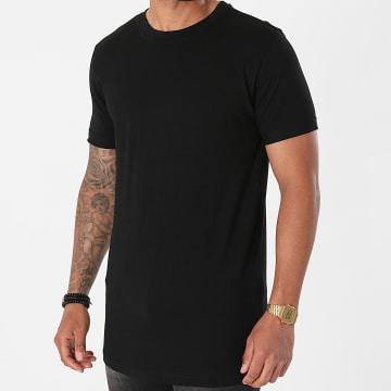 Urban Classics - Tee Shirt Oversize Short Shaped Turn Up TB2882 Noir