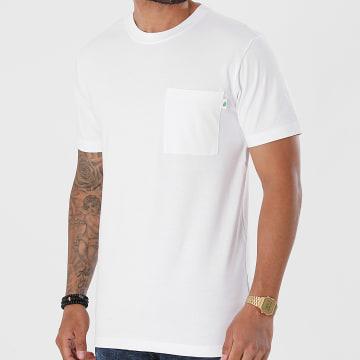 Urban Classics - Tee Shirt Poche Organic Cotton Basic Pocket TB4123 Blanc