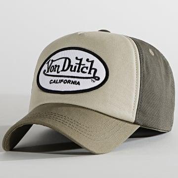 Von Dutch - Casquette Trucker Cas 1 Beige Kaki